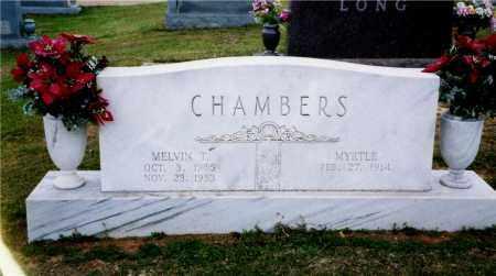 CHAMBERS, MELVIN - Columbia County, Arkansas | MELVIN CHAMBERS - Arkansas Gravestone Photos
