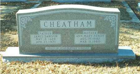 CHEATHAM, ANN MARY DENDY - Columbia County, Arkansas   ANN MARY DENDY CHEATHAM - Arkansas Gravestone Photos