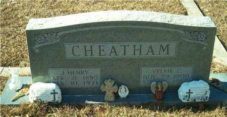 CHEATHAM, J. HENRY - Columbia County, Arkansas | J. HENRY CHEATHAM - Arkansas Gravestone Photos