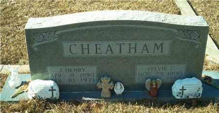 CHAMBERS CHEATHAM, VELVIE - Columbia County, Arkansas | VELVIE CHAMBERS CHEATHAM - Arkansas Gravestone Photos