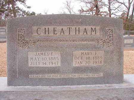 CHEATHAM, MARY F - Columbia County, Arkansas | MARY F CHEATHAM - Arkansas Gravestone Photos