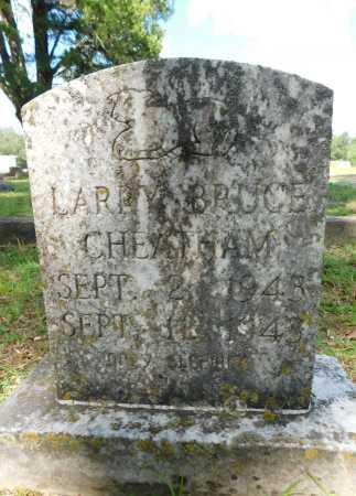 CHEATHAM, LARRY BRUCE - Columbia County, Arkansas | LARRY BRUCE CHEATHAM - Arkansas Gravestone Photos