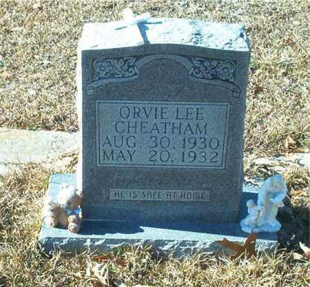 CHEATHAM, ORVIE LEE - Columbia County, Arkansas | ORVIE LEE CHEATHAM - Arkansas Gravestone Photos