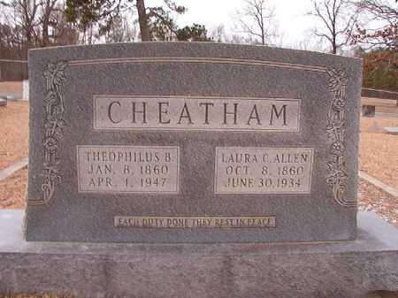 CHEATHAM, THEOPHILUS B - Columbia County, Arkansas | THEOPHILUS B CHEATHAM - Arkansas Gravestone Photos