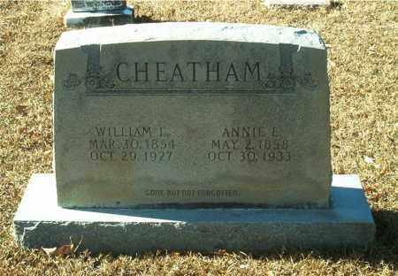 CHEATHAM, ANNIE E. - Columbia County, Arkansas | ANNIE E. CHEATHAM - Arkansas Gravestone Photos