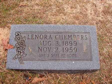 CHEMBERS, LENORA - Columbia County, Arkansas | LENORA CHEMBERS - Arkansas Gravestone Photos