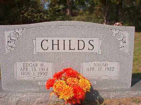 CHILDS, EDGAR H - Columbia County, Arkansas   EDGAR H CHILDS - Arkansas Gravestone Photos