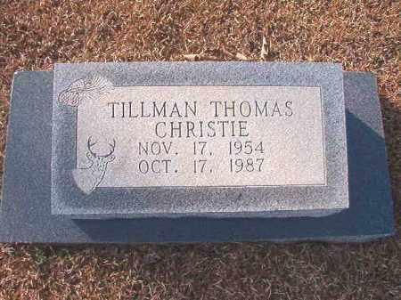 CHRISTIE, TILLMAN THOMAS - Columbia County, Arkansas | TILLMAN THOMAS CHRISTIE - Arkansas Gravestone Photos