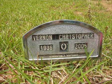 CHRISTOPHER, VERNON - Columbia County, Arkansas | VERNON CHRISTOPHER - Arkansas Gravestone Photos