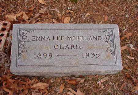 MORELAND CLARK, EMMA LEE - Columbia County, Arkansas | EMMA LEE MORELAND CLARK - Arkansas Gravestone Photos
