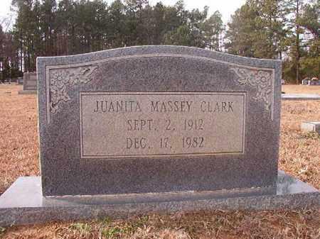 MASSEY CLARK, JUANITA - Columbia County, Arkansas | JUANITA MASSEY CLARK - Arkansas Gravestone Photos