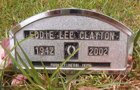 CLAYTON, EDDIE LEE - Columbia County, Arkansas   EDDIE LEE CLAYTON - Arkansas Gravestone Photos