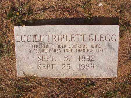 CLEGG, LUCILE - Columbia County, Arkansas | LUCILE CLEGG - Arkansas Gravestone Photos