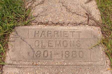 CLEMONS, HARRIETT - Columbia County, Arkansas | HARRIETT CLEMONS - Arkansas Gravestone Photos