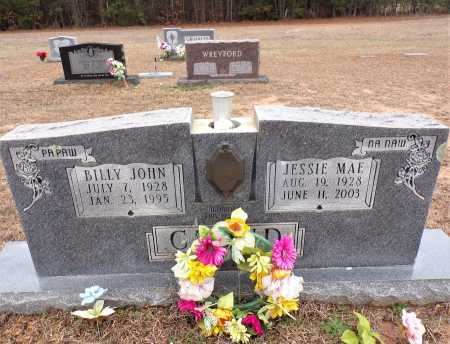 CLOUD, BILLY JOHN - Columbia County, Arkansas | BILLY JOHN CLOUD - Arkansas Gravestone Photos