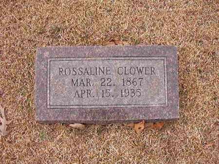 CLOWER, ROSSALINE - Columbia County, Arkansas   ROSSALINE CLOWER - Arkansas Gravestone Photos
