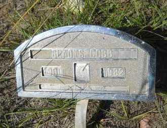 COBB, GLADYS - Columbia County, Arkansas   GLADYS COBB - Arkansas Gravestone Photos
