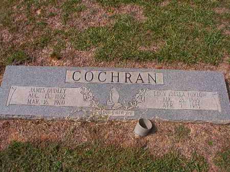 FURLOW COCHRAN, LUCY ADELLA - Columbia County, Arkansas | LUCY ADELLA FURLOW COCHRAN - Arkansas Gravestone Photos