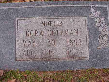 COFFMAN, DORA - Columbia County, Arkansas | DORA COFFMAN - Arkansas Gravestone Photos