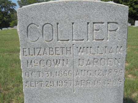 COLLIER, ELIZABETH - Columbia County, Arkansas | ELIZABETH COLLIER - Arkansas Gravestone Photos