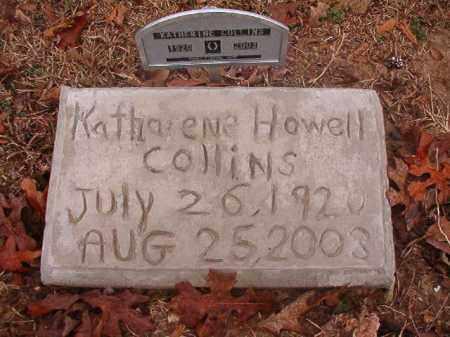 HOWELL COLLINS, KATHERENE - Columbia County, Arkansas | KATHERENE HOWELL COLLINS - Arkansas Gravestone Photos