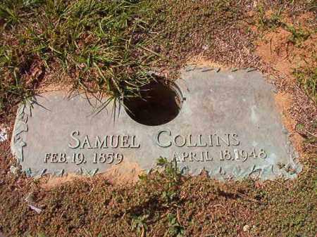 COLLINS, SAMUEL - Columbia County, Arkansas   SAMUEL COLLINS - Arkansas Gravestone Photos