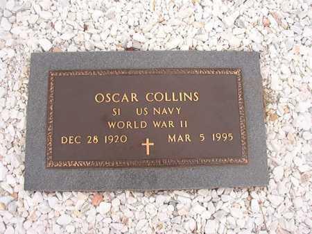 COLLINS (VETERAN WWII), OSCAR - Columbia County, Arkansas | OSCAR COLLINS (VETERAN WWII) - Arkansas Gravestone Photos