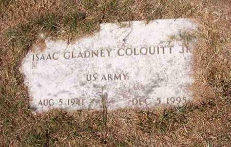 COLQUITT, JR (VETERAN), ISAAC GLADNEY - Columbia County, Arkansas | ISAAC GLADNEY COLQUITT, JR (VETERAN) - Arkansas Gravestone Photos