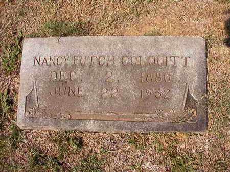 FUTCH COLQUITT, NANCY - Columbia County, Arkansas   NANCY FUTCH COLQUITT - Arkansas Gravestone Photos