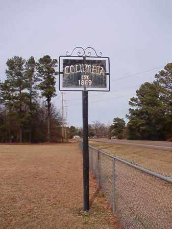 *COLUMBIA, CEMETERY - Columbia County, Arkansas | CEMETERY *COLUMBIA - Arkansas Gravestone Photos