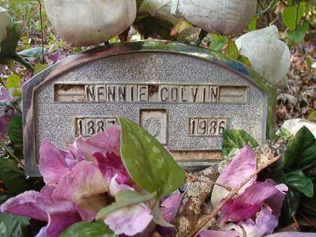 COLVIN, NENNIE - Columbia County, Arkansas | NENNIE COLVIN - Arkansas Gravestone Photos
