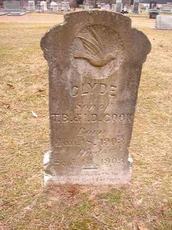 COOK, CLYDE - Columbia County, Arkansas | CLYDE COOK - Arkansas Gravestone Photos