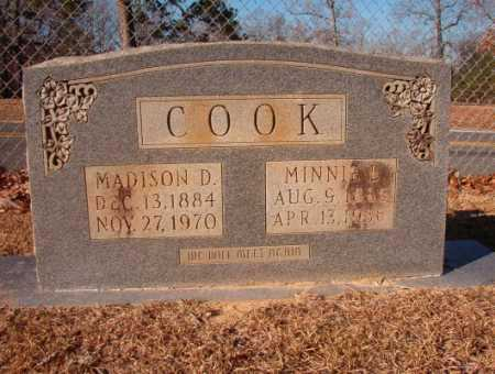 COOK, MADISON D - Columbia County, Arkansas | MADISON D COOK - Arkansas Gravestone Photos