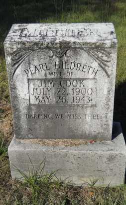 HILDRETH COOK, PEARL - Columbia County, Arkansas | PEARL HILDRETH COOK - Arkansas Gravestone Photos