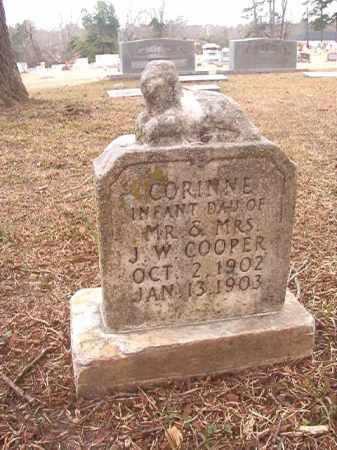 COOPER, CORINNE - Columbia County, Arkansas | CORINNE COOPER - Arkansas Gravestone Photos