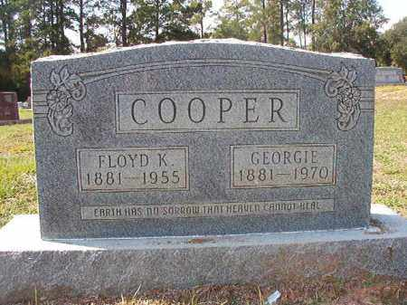COOPER, GEORGIE - Columbia County, Arkansas | GEORGIE COOPER - Arkansas Gravestone Photos