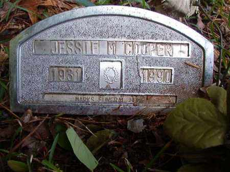 COOPER, JESSIE M - Columbia County, Arkansas | JESSIE M COOPER - Arkansas Gravestone Photos