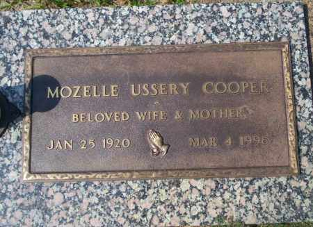 COOPER, MOZELLE - Columbia County, Arkansas   MOZELLE COOPER - Arkansas Gravestone Photos
