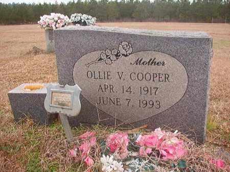 COOPER, OLLIE V - Columbia County, Arkansas | OLLIE V COOPER - Arkansas Gravestone Photos
