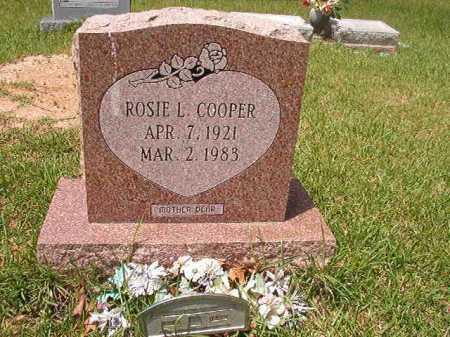 COOPER, ROSIE L - Columbia County, Arkansas   ROSIE L COOPER - Arkansas Gravestone Photos