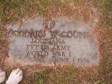 COOPER (VETERAN WWI), WOODARD W - Columbia County, Arkansas | WOODARD W COOPER (VETERAN WWI) - Arkansas Gravestone Photos