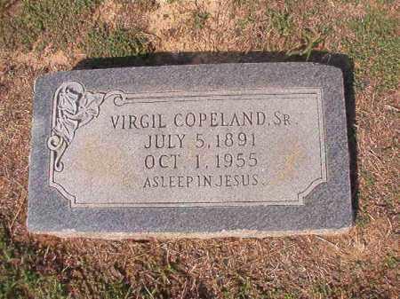 COPELAND, SR, VIRGIL - Columbia County, Arkansas | VIRGIL COPELAND, SR - Arkansas Gravestone Photos
