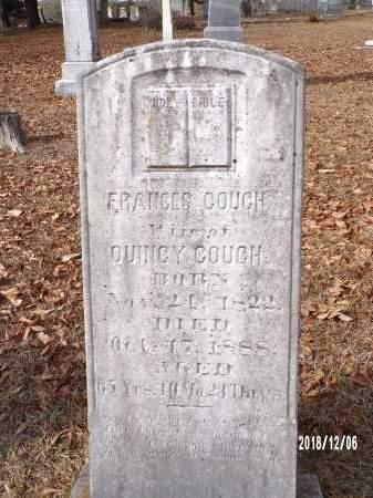 COUCH, FRANCES - Columbia County, Arkansas | FRANCES COUCH - Arkansas Gravestone Photos
