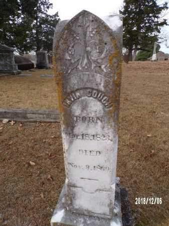 COUCH, IRVIN - Columbia County, Arkansas | IRVIN COUCH - Arkansas Gravestone Photos
