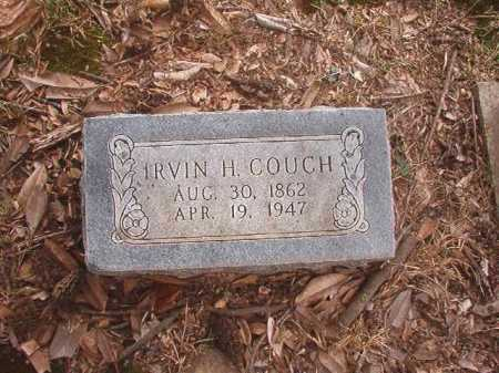 COUCH, IRVIN H - Columbia County, Arkansas | IRVIN H COUCH - Arkansas Gravestone Photos