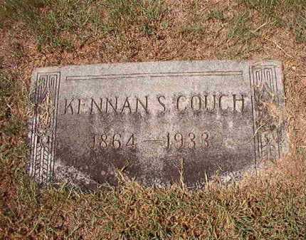 COUCH, KENNAN S - Columbia County, Arkansas | KENNAN S COUCH - Arkansas Gravestone Photos