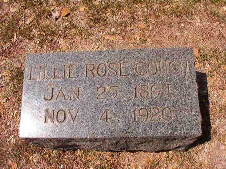COUCH, LILLIE ROSE - Columbia County, Arkansas | LILLIE ROSE COUCH - Arkansas Gravestone Photos