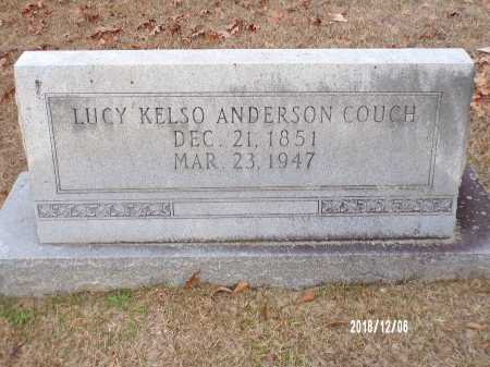 ANDERSON COUCH, LUCY KELSO - Columbia County, Arkansas | LUCY KELSO ANDERSON COUCH - Arkansas Gravestone Photos