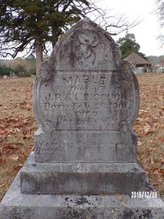 COUCH, MABLE - Columbia County, Arkansas   MABLE COUCH - Arkansas Gravestone Photos