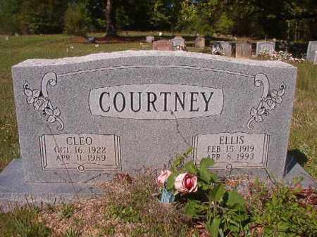 COURTNEY, ELLIS - Columbia County, Arkansas   ELLIS COURTNEY - Arkansas Gravestone Photos